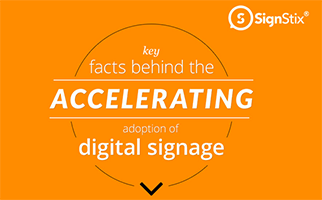 digital sigange infographic